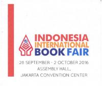Indonesia International Book Fair, Jakarta, Indonesia