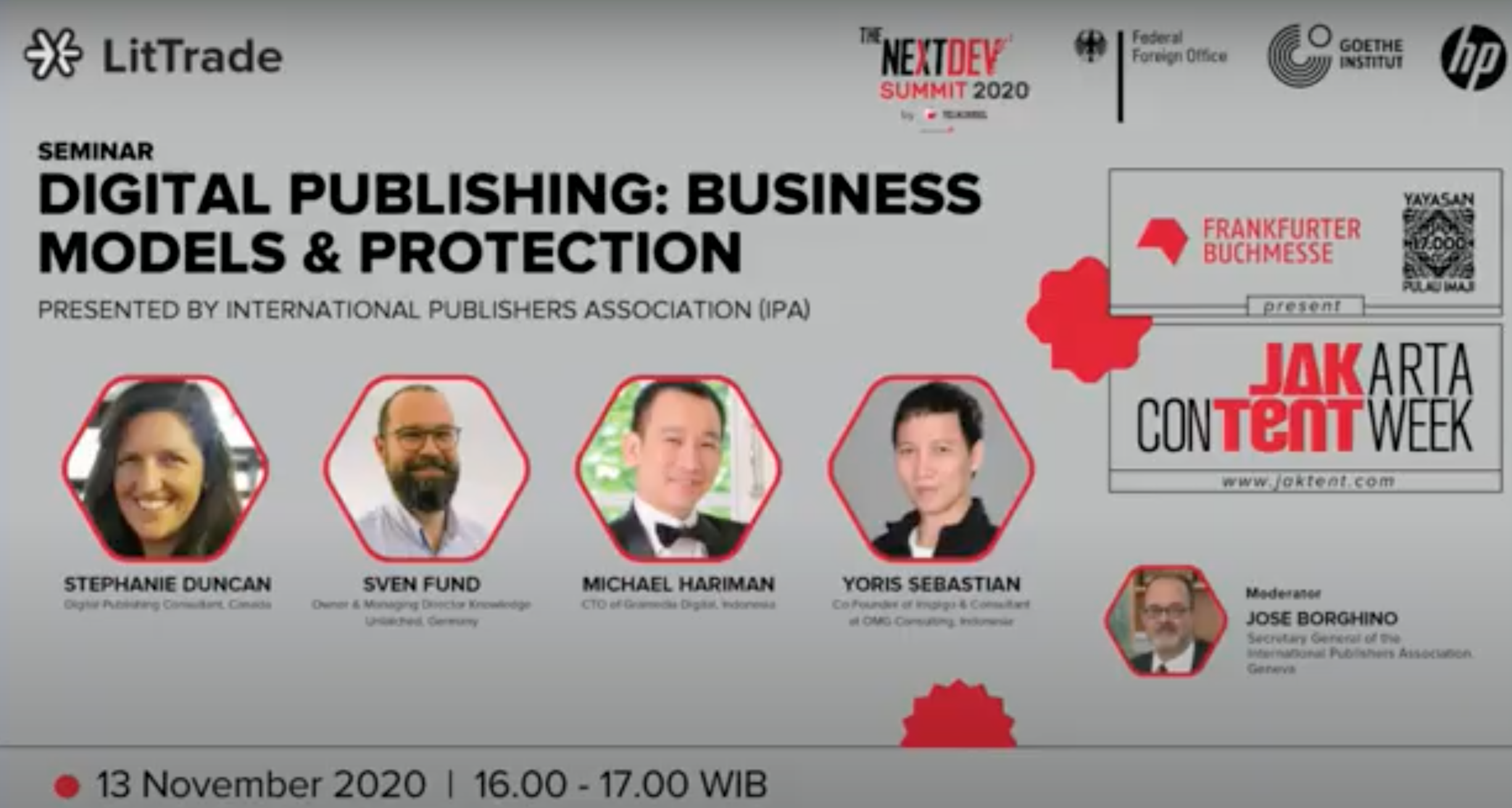 IPA Presents Two Panels about Digital Publishing and Accessibility at Jakarta Festival