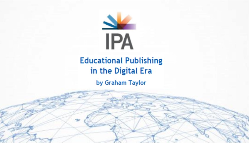 Crop of the cover of the report Educational Publishing in the Digital Era