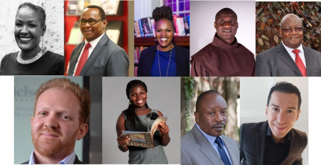 Composite of speakers confirmed for the Nairobi Seminar 2019