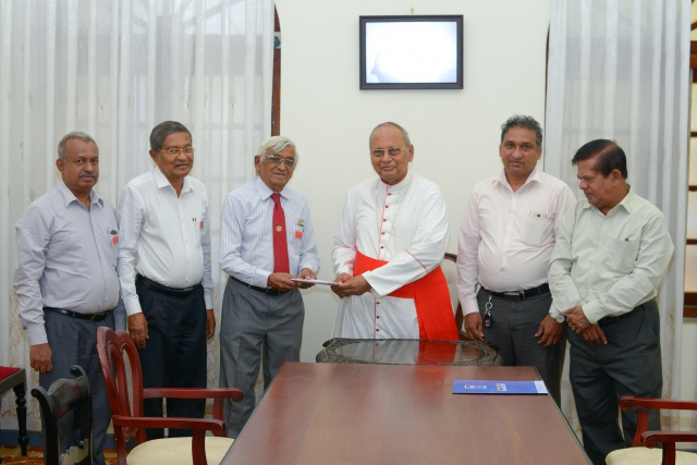 Sri Lanka Book Publishing Association with Malcolm Cardinal Ranjith