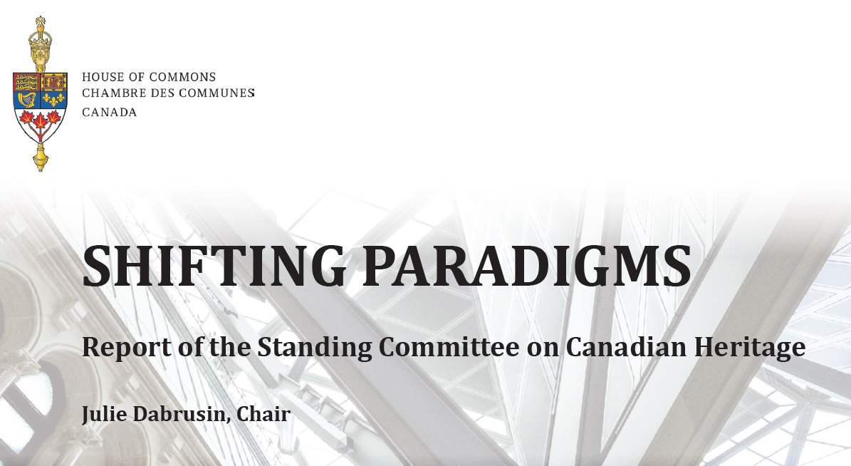 Shifting Paradigms report cover