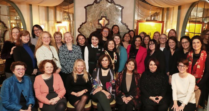 Attendees at the 2019 PublisHer's dinner in London. Image: Nabs Ahmedi