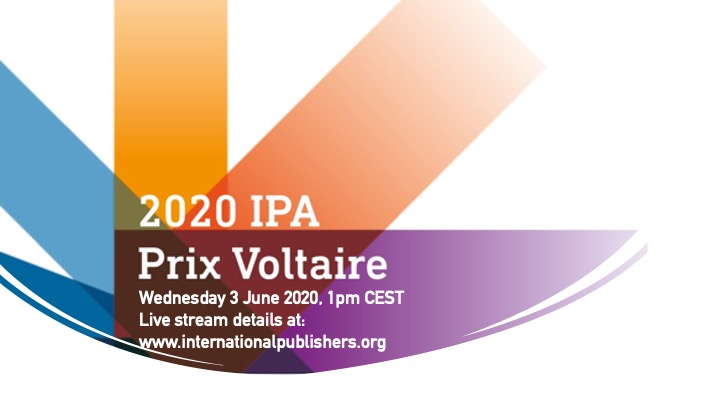Image showing date and time of Prix Voltaire 2020 announcement