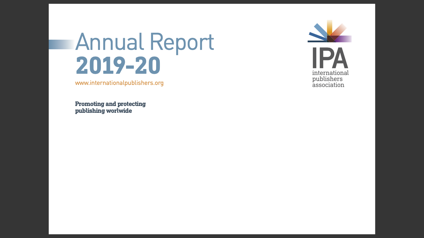 IPA Annual Report 2019-20 Cover