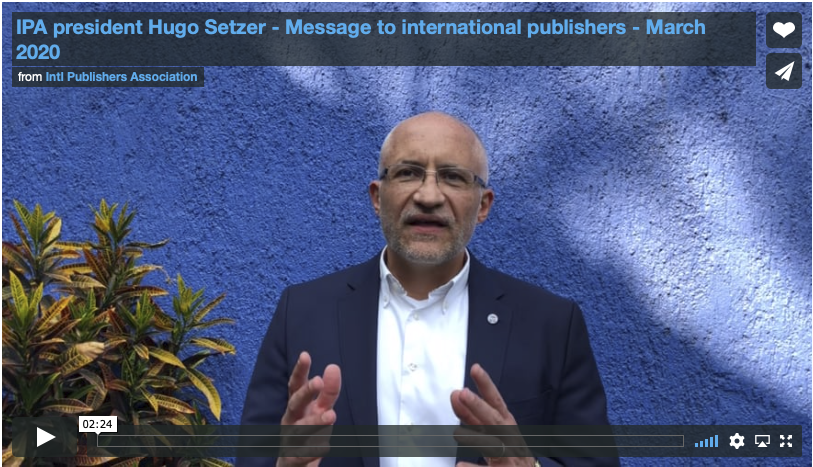 screen shot -Hugo Setzer video message