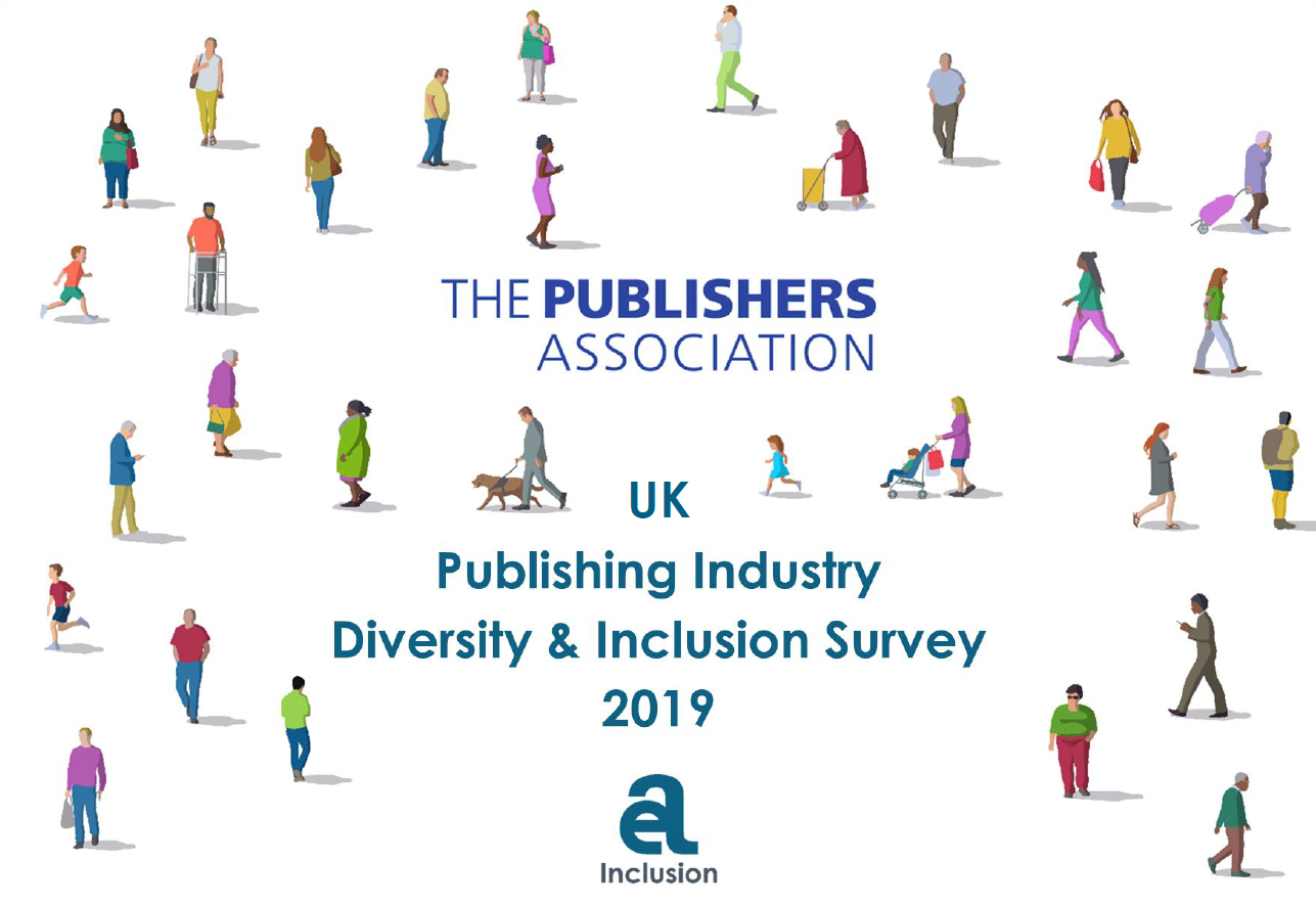 Cover of the report on Diversity and Inclusion by the Publishers Association (UK)