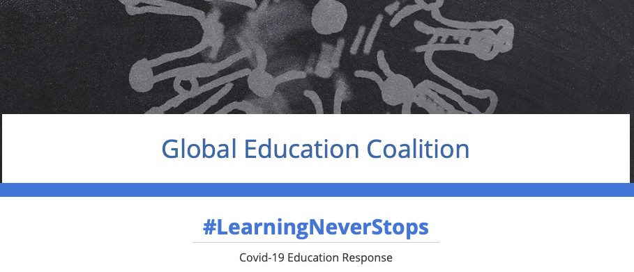 Global Education Coalition screen crop
