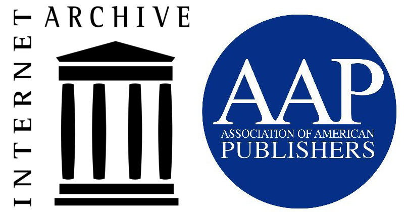 Internet Archive and AAP logo composite