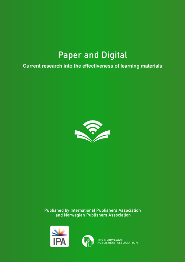 Paper and Digital: Current Research into the Effectiveness of Learning Materials