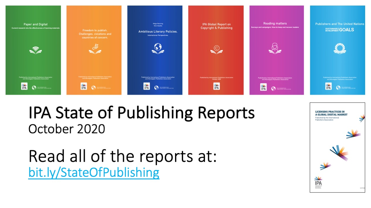 State of Publishing Reports