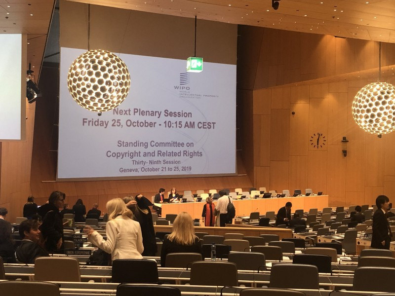 WIPO Diary SCCR39 (Day 4) – Are we still talking TV?