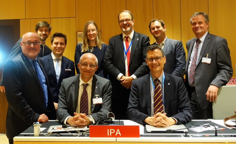 IPA Delegation at SCCR