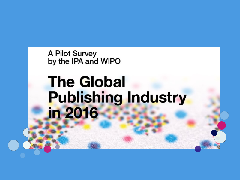 IPA-WIPO publishing industry pilot survey published