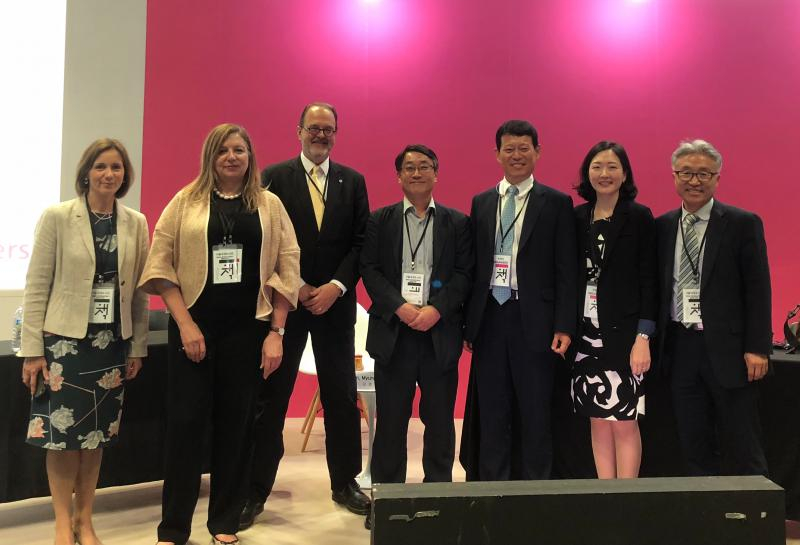 IPA joined high-level delegations advising on copyright and education policy at the Seoul International Book Fair.